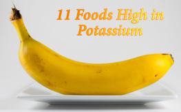 potassium foods