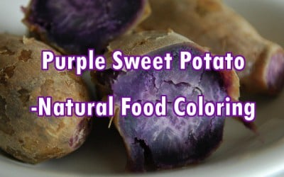 Purple Sweet Potatoes Could Replace some Artificial Colors