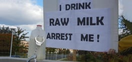 Raw Milk Farmer Jailed for Removing Gov't Surveillance Cameras from Own Property