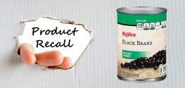Hy-Vee black bean recall