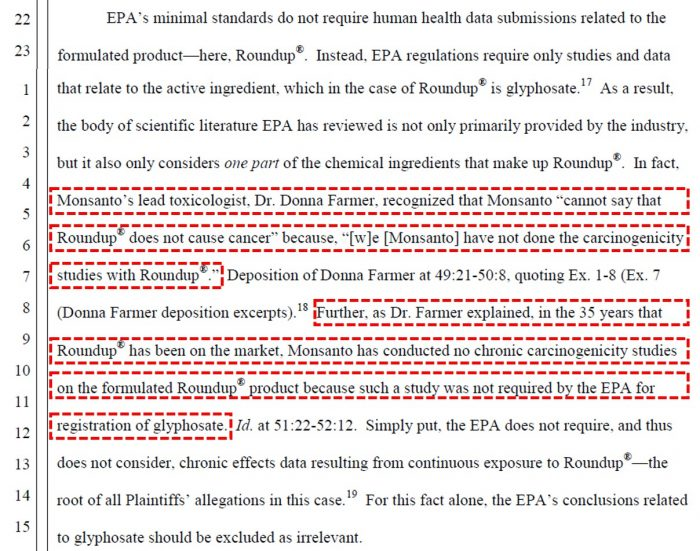 Did An EPA Official Collude With Monsanto By Tilting Research?