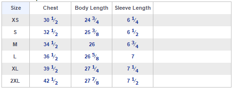 shirt_size_chart_Next_level_3900_ladies