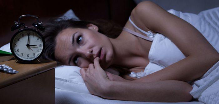 sleepless girl