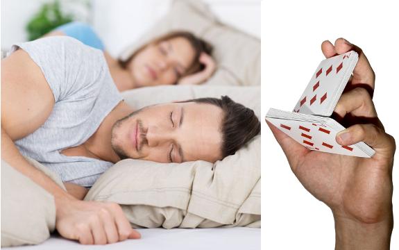 weird sleeping solution