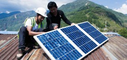 How Solar Power is Aiding Nepalese 7.8 Earthquake Victims