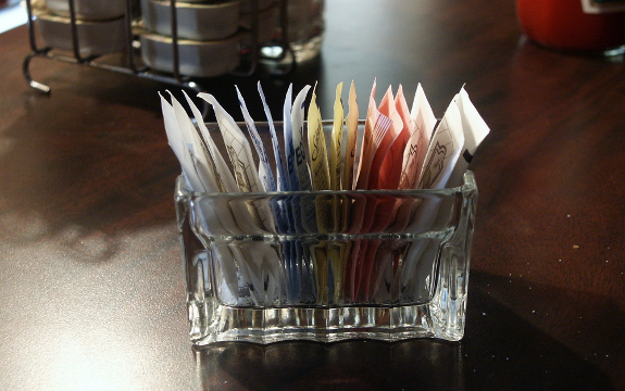 sweetener packets
