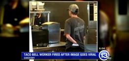 Taco Bell Employee Fired After Gross Photo Goes Viral