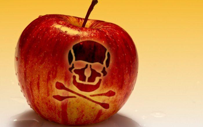 toxic apple
