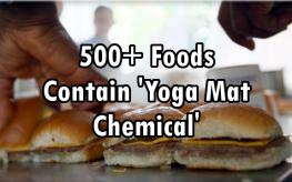 yoga mat chemical