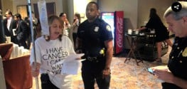 Breast Cancer Patient Protesting Big Pharma's 'Death Sentence' Arrested Outside TPP Talks