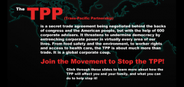 Breaking: Secret Agreement to Make Corporations Unstoppable Moves Forward