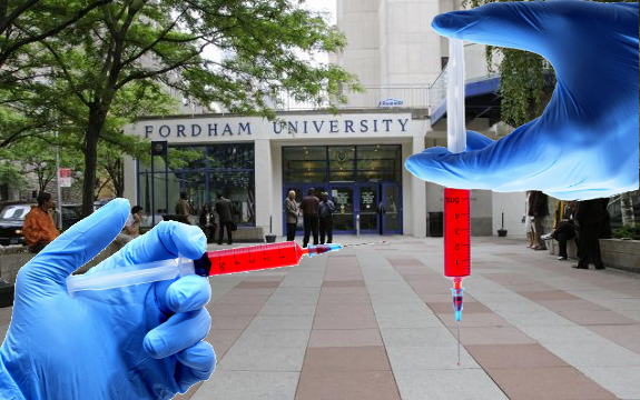 Fordham University vaccine