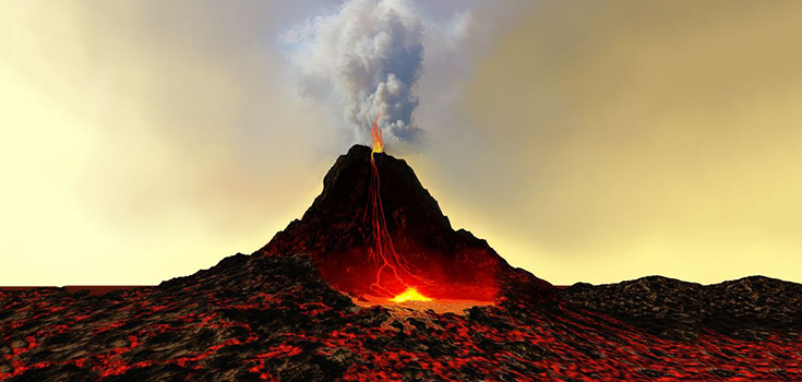 volcanoes around the world are springing to life