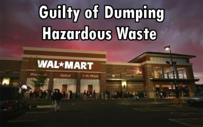 Walmart toxic waste
