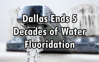 water fluoride