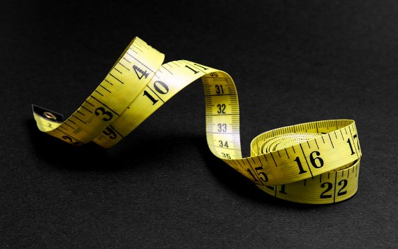 weight loss measuring tape