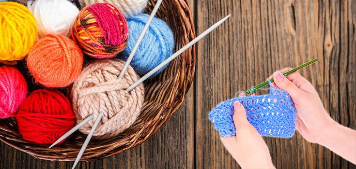 The Surprising Health Benefits of Knitting or Crocheting