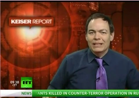 Max Keiser on Russia Today: Monsanto and the Seeds of Evil