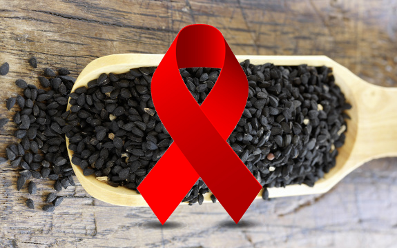 black cumin hiv