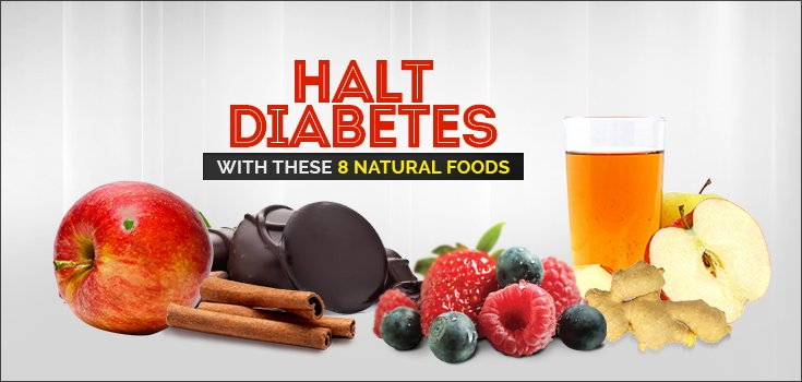 Halt Diabetes with These 8 Natural Foods