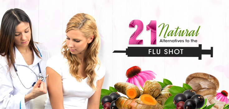 21 Natural Alternatives to the Flu Shot
