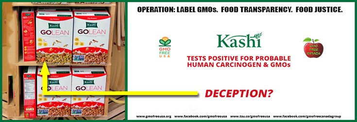 Independent Lab Confirms Kashi Go Lean Cereal Loaded with Toxic Glyphosate