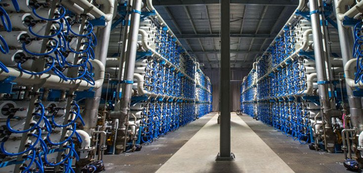 New Desalination Plant Creates 50 Million Gallons of Drinkable Water Daily