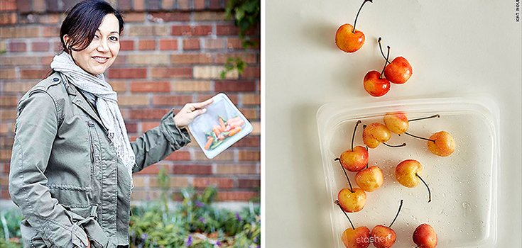 Could These Reusable, Biodegradable Silicone Sandwich Bags Replace Ziplocs?