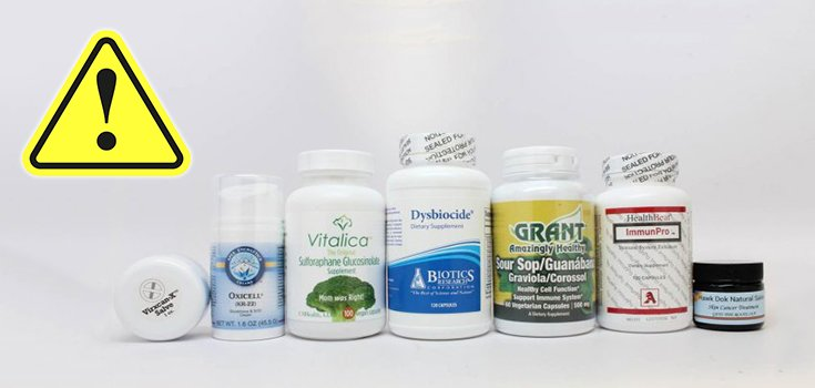 FDA Warns 14 Companies over Questionable Health Product Claims