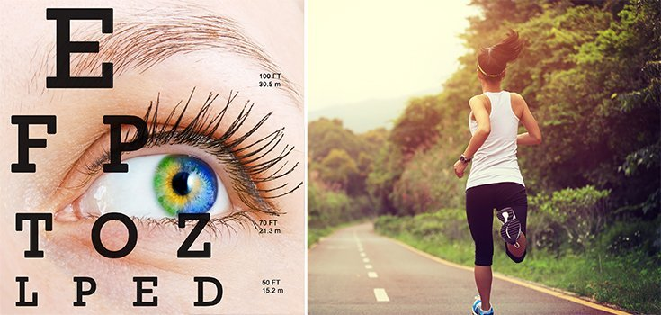 Surprising: Exercise may Actually Improve Eyesight