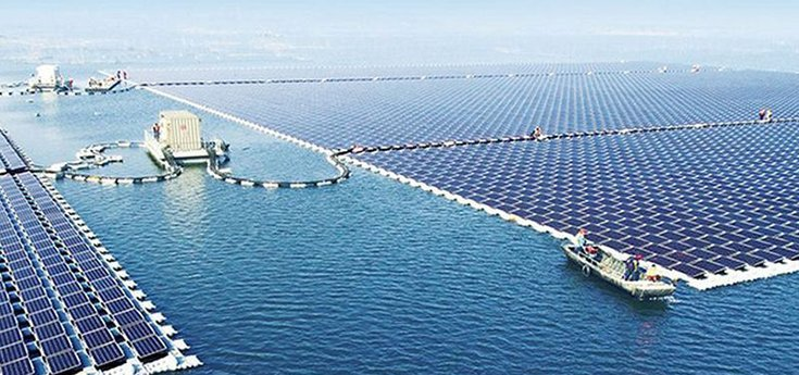 China Now Home to the World's Largest Floating Solar Plant