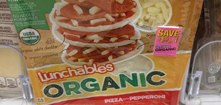 "Organic Lunchables are a Thing Now, But Don't Call Them ""Healthy"""