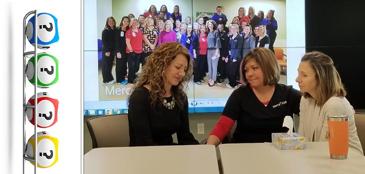 Smile: Nurses Win the Lottery, Give Winnings to Co-Workers in Need