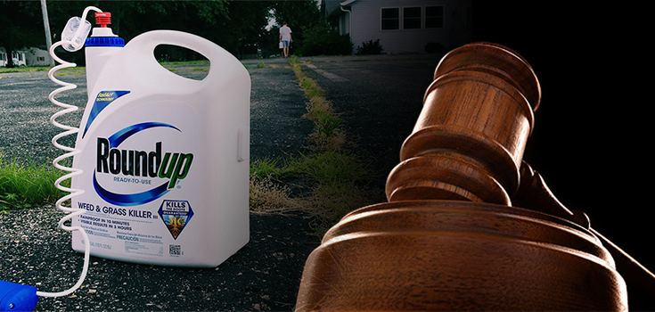 Jury Finds Roundup Weedkiller Caused Man's Cancer