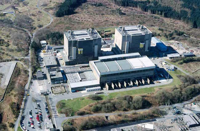 Trawsfynydd nuclear power station which was responsible for the fivefold increase in breast cancer rates