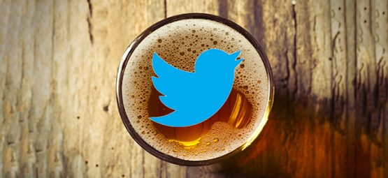 beer, twitter