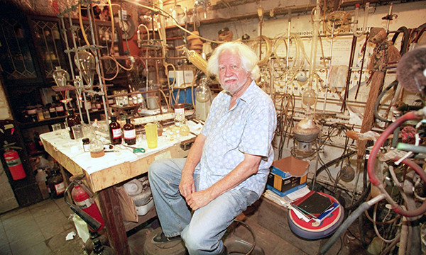 2C-E was one of the hundreds of drugs synthesised by Alexander Shulgin, who was known as the 'godfather of ecstasy'. Photograph: Scott Houston/Corbis