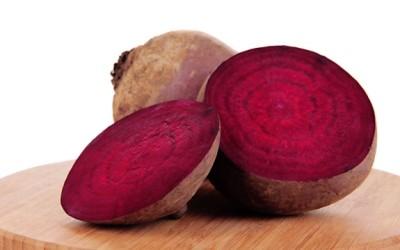 sliced beet