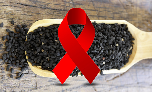 black cumin hiv
