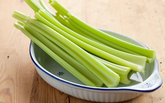 celery in a bowl