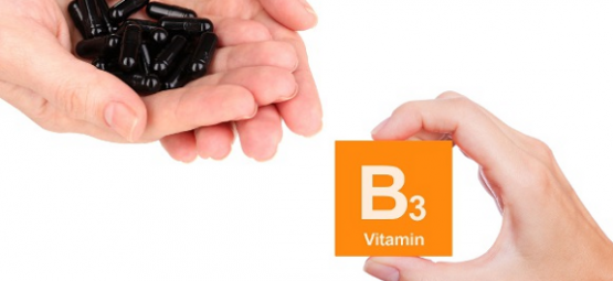 activated charcoal, vitamin B3