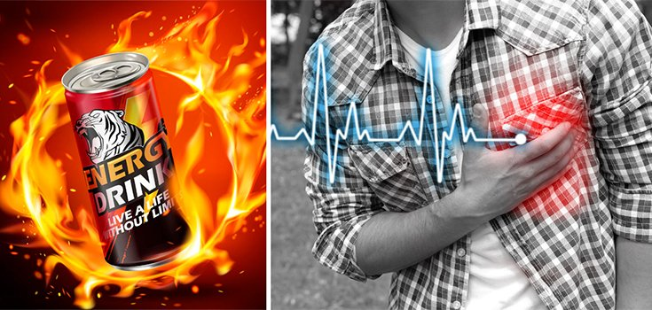 Energy Drinks Heartburn