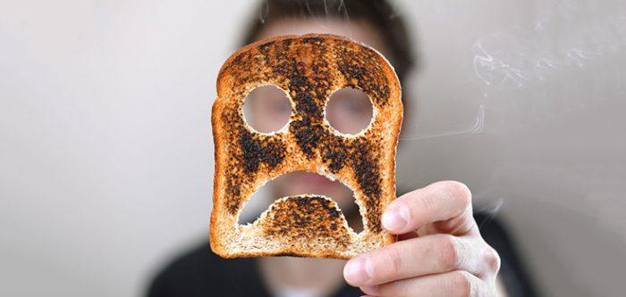 food toast sad emotion burnt overcook 735 350 700x333 Health Benefits Of Coffee
