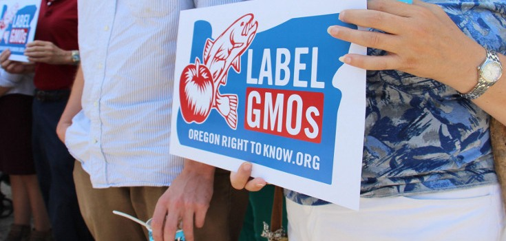 gmo labeling oregon sign