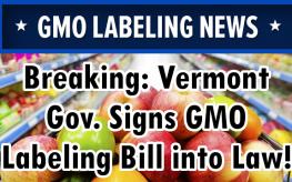 Vermont gmo labeling bill
