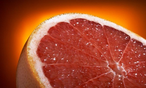 grapefruit sliced