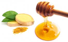 honey and ginger