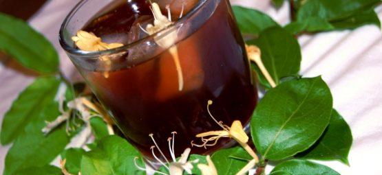 honeysuckle tea