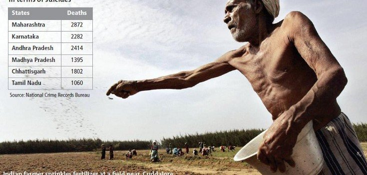 Indian farmer suicide