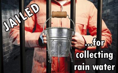 jail rain water